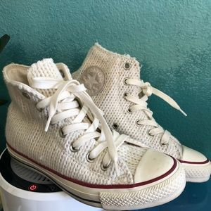 Converse Shoes - Unique knitted Converse